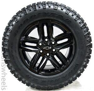 """Chevy Silverado GMC Yukon XL Denali Factory OEM Trail Boss 18"""" Wheels Rims Tires"""