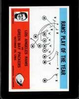 1965 PHILADELPHIA #98 HARLAND SVARE EXMT LA RAMS RAMS PLAY OF THE YEAR  *XR13933
