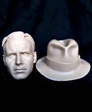 1/6 scale resin action figure head sculpt harrison ford indiana jones dx