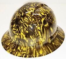 Hydro dip Hard Hat Yellow Pistons Pyramex Ridgeline Protective