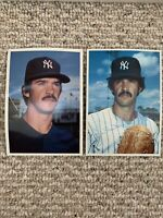 RON GUIDRY - NEW YORK YANKEES - 1980, 1981 TOPPS - LARGE CARD VINTAGE