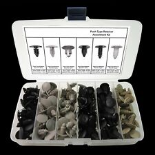177 Auto Body Clip Fender Bumper Shield Retainer Assortment Kit Push In Fastener Fits Plymouth Breeze