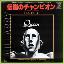 "Queen ""We Are The Champions b/w We Will Rock You"" 7"" Japan 45 Rpm (Nm)"