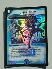 Aqua Master Duel Masters Super Rare Holofoil Card  MP