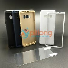 SAMSUNG GALAXY S8 G950 360 FULL COVER CASE -- FREE SCREEN PROTECTOR