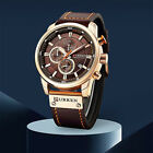 Mens Luxury Watch Army Military Chronograph Date Quartz Wrist Watches Waterproof