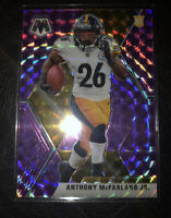 2020 Panini Mosaic Anthony McFarland Jr. Purple Prizm #d 37/49 Steelers SP 🔥🔥