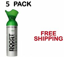 Boost Oxygen Natural Energy Booster Portable Can, 22 Ounce Sealed(5-PACK)