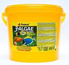 Tropical 3-Algae Flakes 5000 ml Fischfutter Spirulina  (7,80 €/1000 ml)