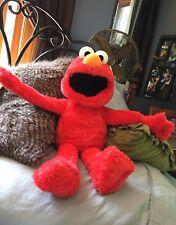 2012 Elmo Hug/Play/Sleepy time Plush Talking Sesame Street Hasbro 24 Inch