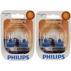 2 pc Philips PC168B2 Instrument Panel Courtesy Light Bulbs for Electrical ix