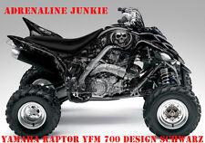 Invision Décor Kit ATV Yamaha Raptor Yfm 125/250/350/660/700 Adrenaline Junkie B