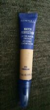 New Rimmel Match Perfection Skin Tone Adapting Concealer, 010 Porcelain, 7ml
