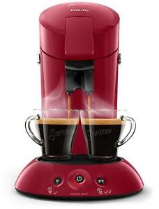 Senseo Original HD6554/91 Coffee Maker Machine Of On Capsules 0,7L 1450W Red
