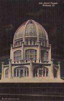 Postcard Baha'i Temple Wilmette IL