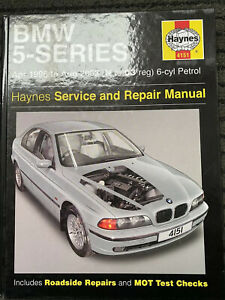 HAYNES BMW 5-series 6-cyl Petrol: 96 to 03 SERVICE & REPAIR MANUAL