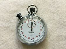 Made in Germany Hanhart Vintage 1/10 Mechanical Wind Up Stopwatch