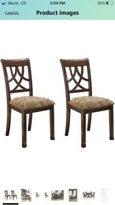 Ashley Furniture Signature Design Set of 2 Upholster Dining Side Chairs