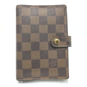 Louis Vuitton Diary Cover R20700 Agenda PM  Browns Damier 1413075