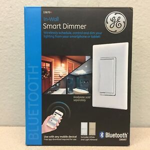 GE 13870 White Bluetooth Light Dimmer 1
