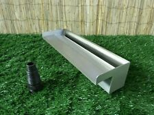 600mm Stainless Steel Waterfall WATER BLADE Cascade Koi Fish Pond  BOTTOM INLET