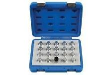 Laser Tools Locking Wheel Nut Key Set - Vauxhall/Opel 20 Pieces - 6861L