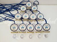 Prince Baby Shower decoration | 12 Pacifier Necklaces Favors It's a Boy | Game