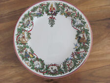 Macy's Royal Gallery All The Days of Christmas- Holly 12 Days- Dinner Plate(s)
