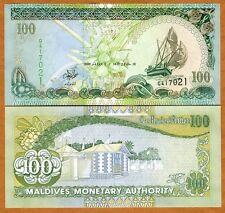Maldives, 100 Rufiyaa, 2000, P-22 (22b), UNC