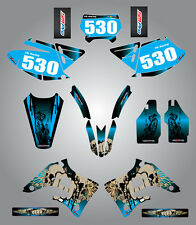 Full  Custom Graphic  Kit -REAPER - TM 125 - 250 - 300 - 400 - 2004 / 2007