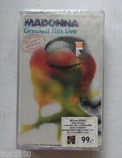 Madonna : Greatest Hits LIVE  THAILAND CASSETTE TAPE Sealed...Rare!