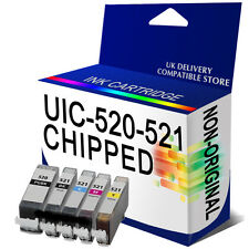 5 Chipped Ink For MP550 IP3600 IP4600 IP4700 MP540 MP560 MP620 MP630