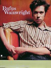 Rufus Wainwright 1994 Personality Original Promo Poster