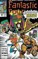 Fantastic Four Comic 309 Copper Age First Print 1987 Englehart Buscema Marvel