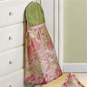 New Bananafish Baby Girls Chloe Collection Diaper Stacker Nursery Decor