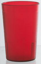 Piazza - Bicchiere in policarbonato rosso 236 ml conf. 6 pezzi Glass