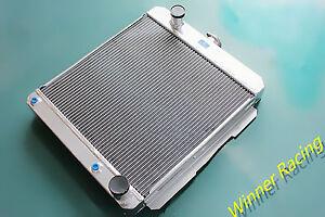 For Chevy Bel Air/Del Ray 283 V8 1958 hot/street rod A/T 56mm Aluminum Radiator