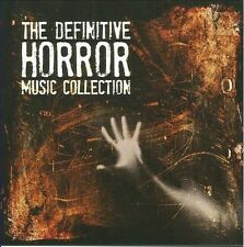 The Definitive Horror Movie Music Collection by Various Artists (CD, Oct-2009, 4 Discs, Silva America)
