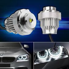 CREE 2× 10W LED Angel Eye Light Bulb BMW E60 E61 Halogen Headlight Xenon White