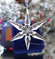 2003 MIB SWAROVSKI ANNUAL LITTLE CHRISTMAS ORNAMENT STAR/SNOWFLAKE #629306