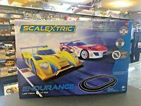 Scalextric Endurance Set LMP Yellow vs GT Red C1399 -1/32 Slot Car Track Set NIB