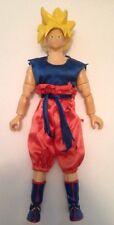 "Dragonball Z/GT Figures-12"" Super Saiyan Goku w/ Real Clothing-2000 Irwin"