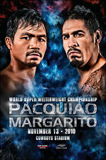 MANNY  PACQUIAO vs. ANTONIO MARGARITO / Original Onsite Boxing Fight Poster A