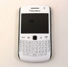 Blackberry Curve 9360 White Smart Mobile Phone Preloved UNTESTED NO ACCESSORIES