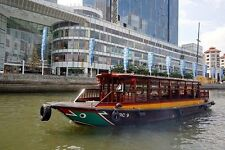 Singapore River Cruise Boat ride Cheap Ticket. Zoo Bird Park Night Safari