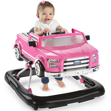 Baby Toddler Girls Walker Ford F-150 Truck Pink Baby Portable Comfortable New
