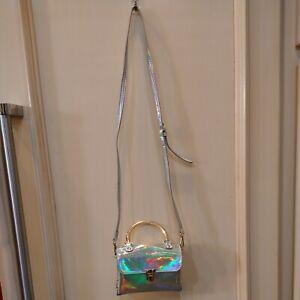 Olivia Miller Small Iridescent Party Or Kids Crossbody Shoulder Handbag