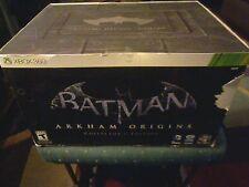 Batman: Arkham Origins Collector's Edition (Microsoft Xbox 360, 2013) NEW SEALED