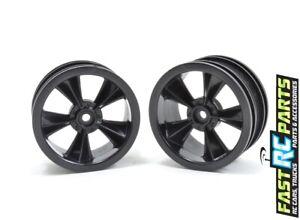 RPM R/C Products  N2O Gloss Black Resto-Mod Sedan Wheels RPM81552