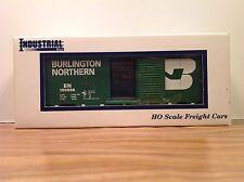 "HO Scale ""Burlington Northern"" BN 159956 40' Freight Train Car /Industrial Rail"